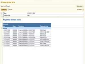 1С: Управление торговлей. Интерфейс программы 6